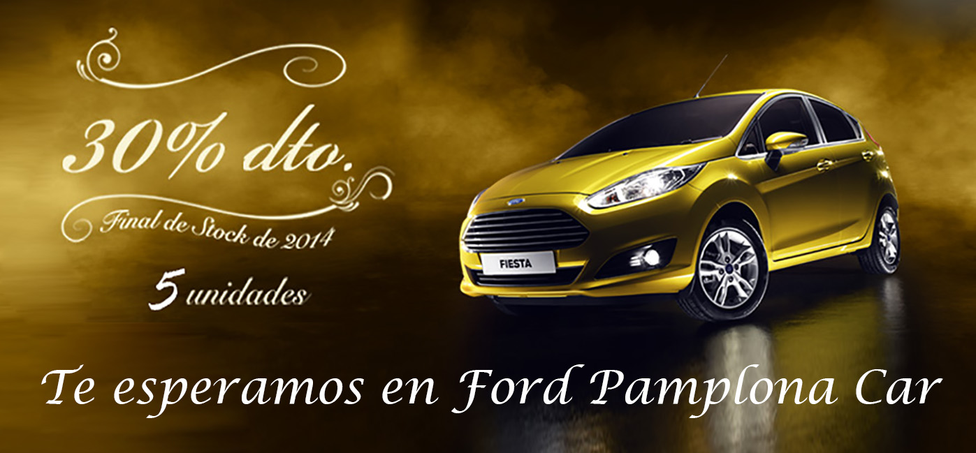 oferta Ford Pamplona Car web